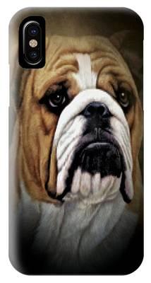 English Bull Dog iPhone X Cases