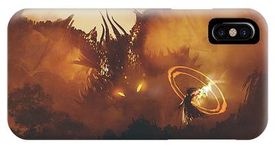 Calling Of The Dragon IPhone Case