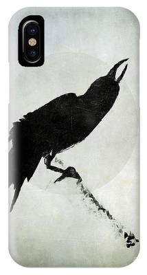 Calling To The Moon IPhone Case by Patricia Strand
