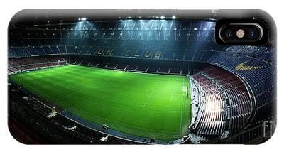 Camp Nou At Night IPhone Case