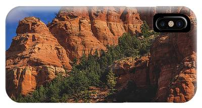 IPhone Case featuring the photograph Capitol Butte Details by Andy Konieczny
