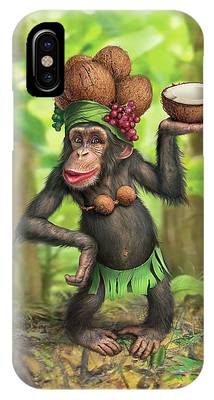 Chimpanzee Phone Cases