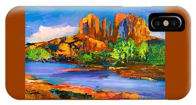 Cathedral Rock iPhone Cases