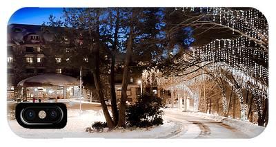 Celebrate The Winter Night IPhone Case