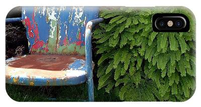 IPhone Case featuring the photograph Chair Of Many Colors by Patricia Strand
