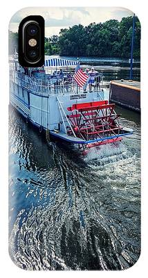 Champlain Canal Patriot IPhone Case
