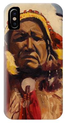 Chief Red Cloud IPhone Case