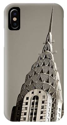 IPhone Case featuring the photograph Chrysler Building New York City by Juergen Held