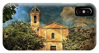 Church In Peillon IPhone Case