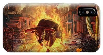 City Bull City IPhone Case
