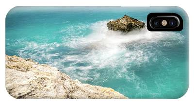 Cliff Views In Negril IPhone Case