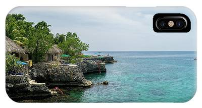 The Cliffs Of Negril IPhone Case