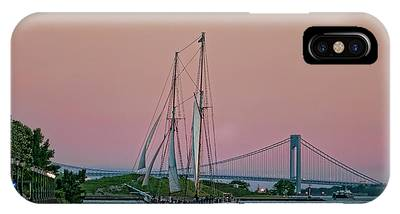 IPhone Case featuring the photograph Clipper City by Steve Sahm