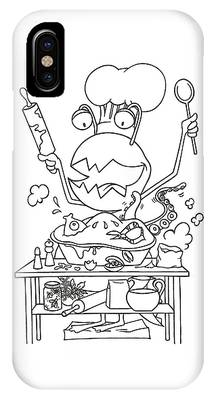 Closet Monster Baking IPhone Case