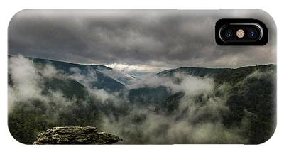 Clouds Rising At Lindy Point IPhone Case