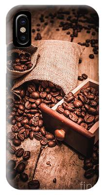 IPhone Case featuring the photograph Coffee Bean Art by Jorgo Photography - Wall Art Gallery