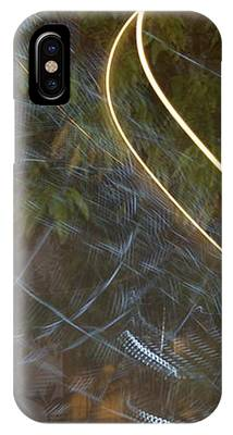 Colliding Worlds  IPhone Case by Michael Lucarelli