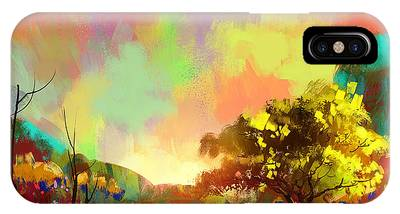 Colorful Natural IPhone Case