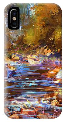 Colorful River IPhone Case