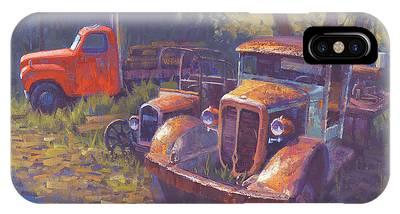 Rusty Truck Phone Cases