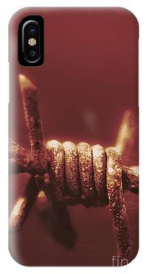 Barbed Wire Fences iPhone Cases