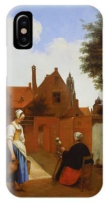 Pieter De Hooch Phone Cases