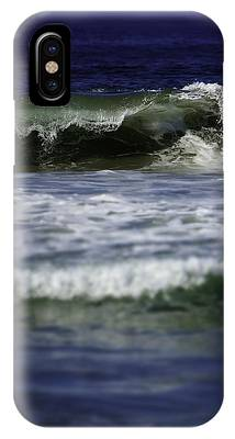IPhone Case featuring the photograph Crashing Wave by Brad Wenskoski