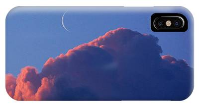 Crescent Moon In The Pink IPhone Case