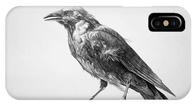 Crow IPhone Cases