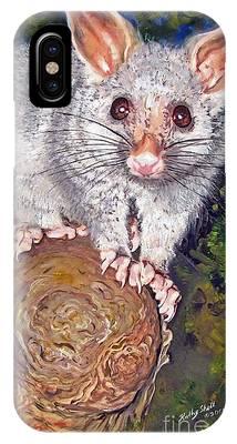 Curious Possum  IPhone Case