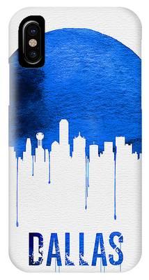 Dallas Skyline Phone Cases