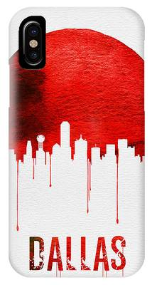 Dallas Skyline Phone Cases