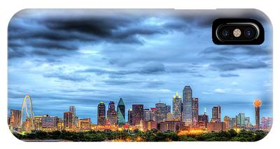 Dallas Skyline iPhone Cases