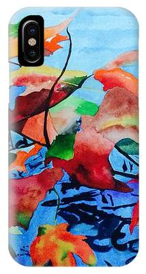 Dancing Over Water IPhone Case by Patti Ferron