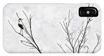 Dead Creek Cranes IPhone Case