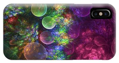 Fractal iPhone Cases