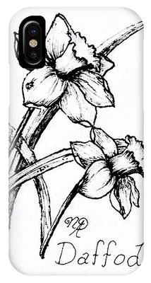 Delightful Daffodils IPhone Case