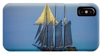 Denis Sullivan - Three Masted Schooner IPhone Case