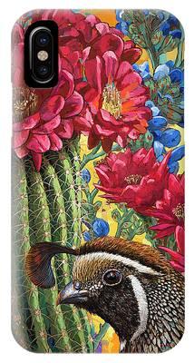 Desert Flowers Phone Cases