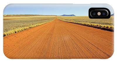 IPhone Case featuring the photograph Desert Road by Benny Marty