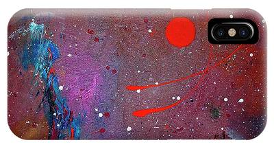 IPhone Case featuring the painting Desert Song by Michael Lucarelli