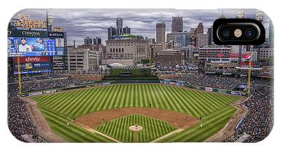Detroit Tigers Comerica Park 4837 IPhone Case