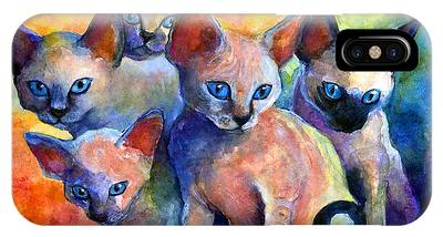 Kitten iPhone Cases