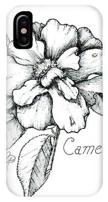 Dew Kissed Camellia IPhone Case