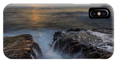 IPhone Case featuring the photograph Diver's Cove Sunset by Andy Konieczny