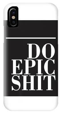 Epic Mixed Media iPhone Cases