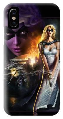 Domino Lady IPhone Case