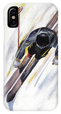 Snow Ski Phone Cases