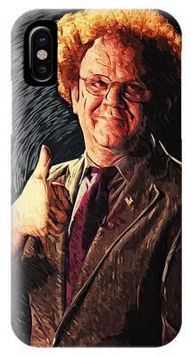 Dr. Steve Brule Digital Art iPhone Cases