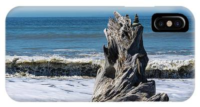 Driftwood In The Surf IPhone Case